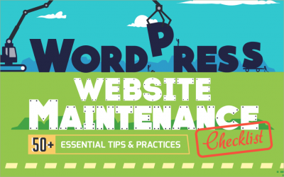 A Detailed Guide To WordPress Website Maintenance – 50+ Best Tips [Infographic]