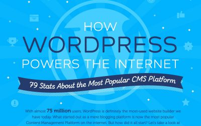 How WordPress Powers the Internet (Infographic)