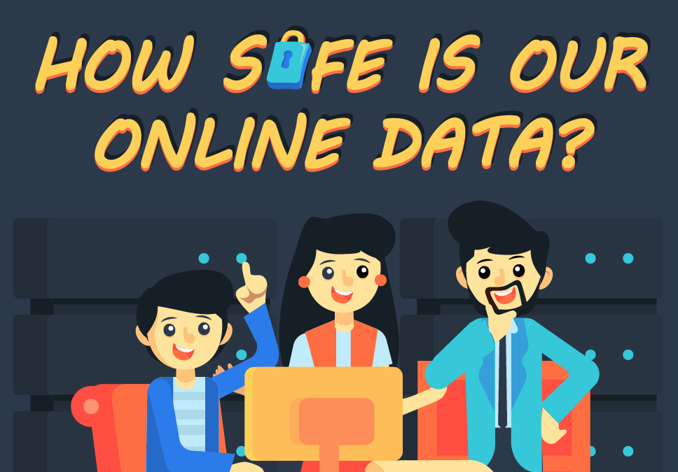 How Safe Is Your Online Data? (Infographic)