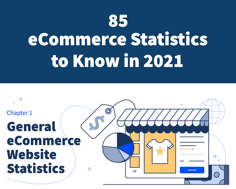 Infographic: 85 eCommerce Statistics for 2021