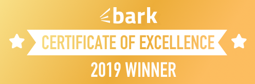 Bark Awards Istomedia with Certificate of Excellence