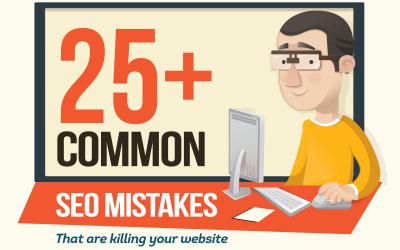 Infographic: 25+ Common SEO Mistakes