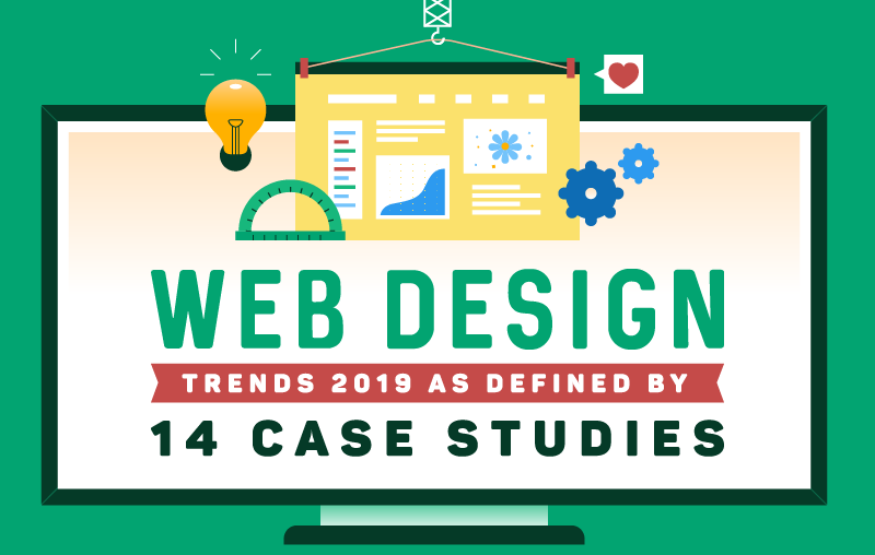 Infographic: Web Design Trends as Defined by 14 Case Studies