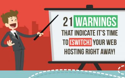 Signs of Bad Web Hosting